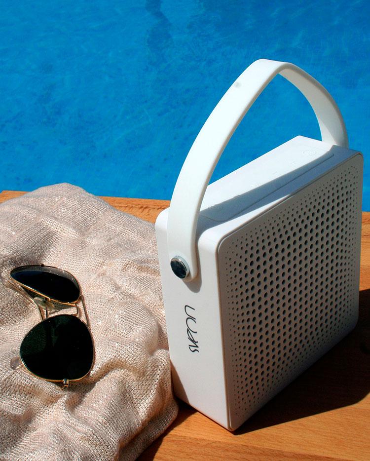altavoz bluetooth con batería - ideal para la playa y piscina (Sveon SON34)